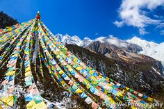 Tibetan Prayer Flags by Feng Wei Photography, via Flickr