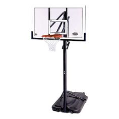 90601 - Portable 54 inch Clear Shatterguard Backboard and System