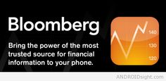 Bloomberg for Smartphone is Business news, market data & portfolio tracking tools for Android.
