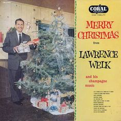 Merry Christmas from Lawrence Welk Record Album Cover Christmas Albums, Christmas Hair, Little Christmas, Christmas Holidays, Merry Christmas, Christmas Stuff, 1950s Christmas, Xmas Music, Christmas Music