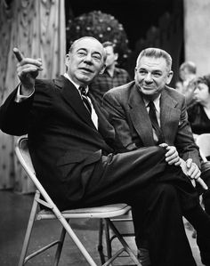 "Richard Rodgers and Oscar Hammerstein II were an influential, innovative and successful  musical theater writing team that created such outstanding Broadway shows as ""Oklahoma!"", ""Carousel"", ""South Pacific"", and ""The Sound of Music"", plus numerous awards. Sheer genius."