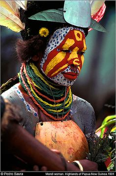Papua New Guinea. | Mujer Mendi. Southern Highlands © Pedro Saura