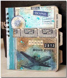 Tim Hotlz inspired mini travel album