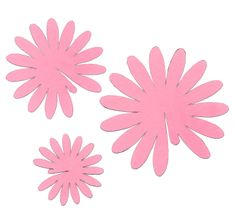 The Craftinomicon: Paper Gerbera Daisies template