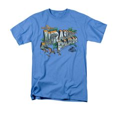 Jurassic Park Greetings from JP T-Shirt