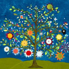 love this colorful piece of art! it's so bright and is perfect for a child of any age!