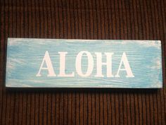 Two tone wood sign  by BelAmour28 on Etsy, $18.00