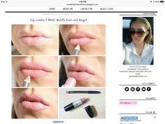 BOLDLY BARE MAC lip liner  and ANGEL MAC lippy