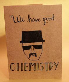 We have good chemistry #breakingbad #valentine #handdrawn #heisenberg  #poshandprep #etsy #calligraphy