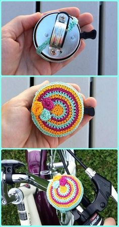 Crochet Bicycle Bell Cozy Free Pattern - Crochet Bicycle Fashion Patterns