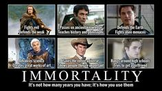 Immortality.