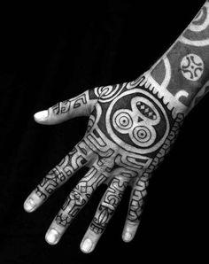 Hand Tattoo Ideas: Most Beautiful Hand Tattoo Designs Tribal Hand Tattoos, Cool Arm Tattoos, Hand Tattoos For Guys, Tribal Tattoo Designs, Finger Tattoos, Leg Tattoos, Sleeve Tattoos, Tattoos For Women, Tattoo Arm