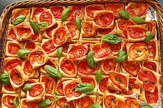 Blätterteig - Tomaten - Quadrate (Rezept mit Bild)   Chefkoch.de