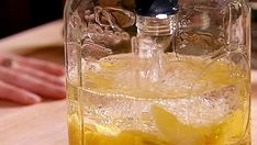 Get Limoncello Vodka Collins Recipe from Food Network Food Network Uk, Food Network Recipes, Cooking Recipes, Cooking Network, Lemon Liqueur, Lemon Vodka, Turkey Pie Recipe, Vodka Collins, Drink Recipes