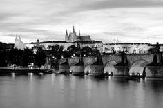 charles bridge architecture black and white - Google Search
