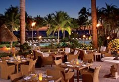 Outstanding lunch at The Ritz-Carlton, Key Biscayne, Miami