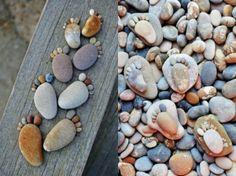 Pebble Feet by M.A.M.