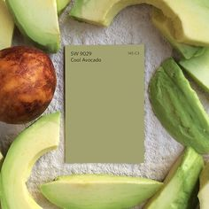 Cool Avocado SW 9029 is always on trend, whether it's on your food or on your walls.