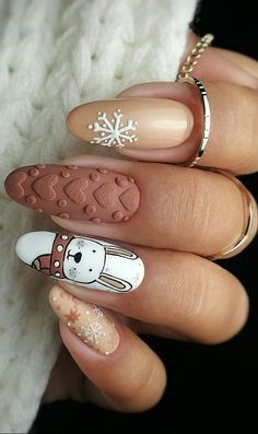 This Year Best Christmas Nails Design and Acrylic Ideas Part 3 Related posts:- - # AcrylicNailsmaroon nails 102 festive and easy christmas nail art designs you. Cute Christmas Nails, Christmas Nail Art Designs, Xmas Nails, Winter Nail Designs, Winter Nail Art, Holiday Nails, Winter Nails, Merry Christmas, Christmas Manicure