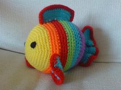 Freddie the Fish - free crochet pattern