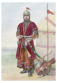 Kazakh Warrior