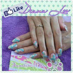 Siguenos en Facebook= Sunshine Nails. Facebook = Leemoon by Diana Lee y en Instagram = leemoonbydianalee.