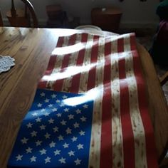 Wavey American Flag From 2x4s: 4 Steps (with Pictures)
