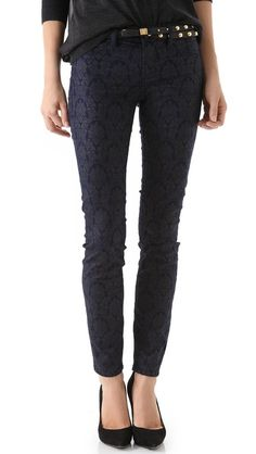 Blank Denim Print Skinny Jeans. If these are comfortable, they're genius: of the moment, yet easy to mix in with your wardrobe!