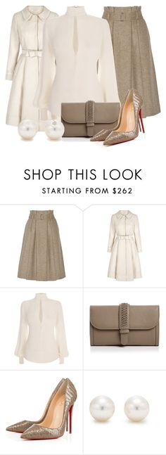 """""""Untitled #440"""" by merida ❤ liked on Polyvore featuring By Malene Birger, Alexander McQueen, GRACE Atelier De Luxe and Tiffany & Co."""