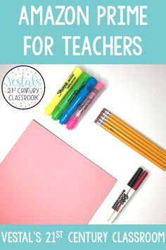 When visiting Amazon Prime for teachers, you can find almost any   resource or tool for your classroom! In this post, I share my favorite   Amazon Prime deals for the classroom and Amazon discounts for teachers.   #vestals21stcenturyclassroom #amazonprime #amazonprimeforteachers   #amazonteachingresources