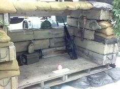 airsoft bunker boxes - Google Search