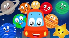 #Littleredcar is going for an adventure ride to the space to meet neighboring planet. Kids do you want to go and meet our friends? #planetsong #learning #nurseryrhymes #carssong #kidssongs #parenting #rhymes #kids