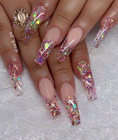 fall nails nail artwork fairly nails nail design engagement nails longs nails sp…, – Pin to pin Summer Acrylic Nails, Best Acrylic Nails, Acrylic Nail Designs, Summer Nails, Fancy Nails, Bling Nails, Pretty Nails, Pearl Nails, Gorgeous Nails