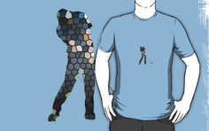 Tiger Woods Fragmented Glass T-Shirt $25 (Available in sizes S-3XL and in 21 different colors!)