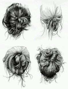 messy hairstyles ♡