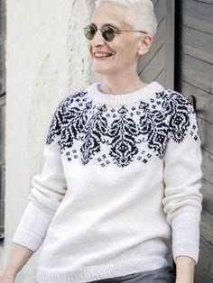 Ohdake-neulepusero Men Sweater, Pullover, Knitting, Sweaters, Fashion, Moda, Tricot, Fashion Styles, Breien