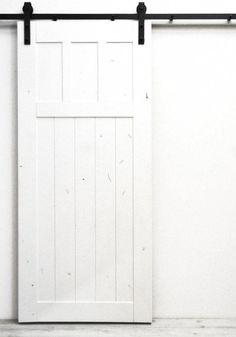 Craftsman Interior Barn Door with Sliding Hardware Dogberry Interior Sliding Glass Doors, Interior Doors For Sale, Interior Barn Doors, Exterior Doors, Sliding Wardrobe Doors, Sliding Doors, Closet Doors, Sliding Cupboard, Sliding Wall