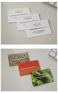 Nutritionist business card by Eugeni Vila d'Abadal #businesscard #nutritionist