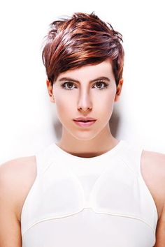 Luis Artistic Team - Best Picture For edgy hair undercut For Your Tas Cool Short Hairstyles, Undercut Hairstyles, Pixie Hairstyles, Pretty Hairstyles, Pixie Haircuts, Hairstyle Ideas, Messy Short Hair, Edgy Hair, Short Hair Cuts