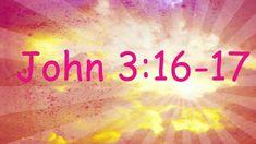 Sweet tune to teach John 3:16 to little people