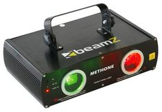 Green and red laser 3 Colors, red, green and yellow (mixed beam) 9 DMX channels Stand-alone and music controlled Preprogrammed patterns Incl. mountingbracket Laser:Green / Red DMX channels Power x 208 x 125 mm KG 3d Laser, Beams, Display, Digital, Pattern, Red, Color, Audio, Floor Space