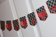 Beautiful Quatrefoil 3D Heart Banner - Decor on Etsy, $14.00