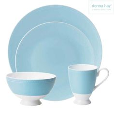 Donna Hay by Royal Doulton Pure Blue 4 Pc Set