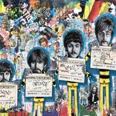 The Fab Four Daltons, Bao   #PopArt #Art #Painting #HomeDecor #Artist #Artwork The Fab Four, Musicians, Pop Art, Artwork, Movies, Movie Posters, Painting, Artist, Work Of Art