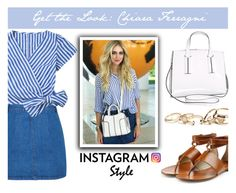 """""""Get the Look: Chiara Ferragni"""" by keepfashion92 ❤ liked on Polyvore featuring Michael Kors, Avenue, Miss Selfridge and GUESS"""