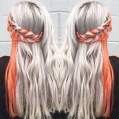 I've got a thing for orange 🍊❤️ #orangecrush . . . . . . . #hairbynellie #behindthechair #modernsalon #americansalon #allaboutdahair #hotonbeauty #hotforbeauty #authentichairarmy #peachyqueenblog #mermaidians #fckinghair #hairofinstagram #orangehair #bestofhair #haircolorideas #hairgoals #hairaddiction #hairandnailfashion #providence #providencehair #nbma #beyondtheponytail #hairinspo #inspiredhairstyles #stylistssupportingstylists #stylistshopconnect #olaplex