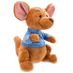 If you know anything about Winnie the Pooh you know he has many friends. One that I am showcasing today is Roo. The cute little kangaroo. I love the way this plush looks. So soft and made by Disney so you know its official.Check out This Disney Roo Plush. Winnie The Pooh Nursery, Disney Nursery, Disney Winnie The Pooh, Baby Disney, Disney Junior, Disney Stuffed Animals, Cute Stuffed Animals, Disney Plush, Disney Toys