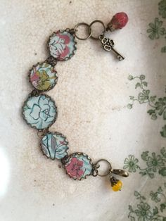 Tin Jewelry Bracelet Mellow Tin for the Ten Year by TheMadCutter