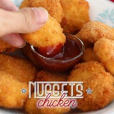 Fun Baking Recipes, Baby Food Recipes, Snack Recipes, Cooking Recipes, Chicken Nugget Recipes, Spicy Chicken Nuggets Recipe, Corn Nuggets Recipe, Chicken Snacks, Crispy Chicken