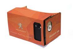 Plaats je telefoon in de Google Cardboard voor een virtual reality beleving. Kijk voor inspiratie op www.limegifts.nl